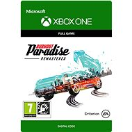 BURNOUT PARADISE REMASTERED - Xbox One Digital - Console Game