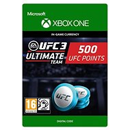 UFC 3: 500 UFC Points - Xbox One Digital - Gaming Accessory