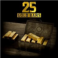 Gaming Accessory Red Dead Redemption 2: 25 Gold Bars - Xbox One Digital - Herní doplněk