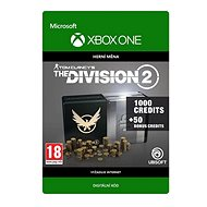 Tom Clancy's The Division 2: 1050 Premium Credits Pack - Xbox One Digital - Gaming Accessory