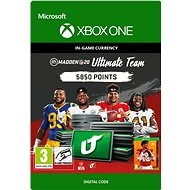 Madden NFL 20: MUT 5850 Madden Points Pack - Xbox One Digital