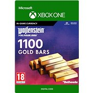 Wolfenstein: Youngblood: 1100 Gold Bars - Xbox One Digital - Gaming Accessory