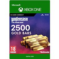 Wolfenstein: Youngblood: 2500 Gold Bars - Xbox One Digital - Gaming Accessory