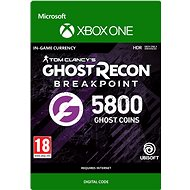 Ghost Recon Breakpoint: 4800 (+1000 bonus) Ghost Coins - Xbox One Digital