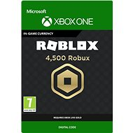 4,500 Robux for Xbox - Xbox One Digital
