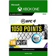 UFC 4: 1050 UFC Points - Xbox One Digital - Gaming Accessory