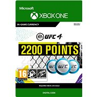 UFC 4: 2200 UFC Points - Xbox One Digital - Gaming Accessory