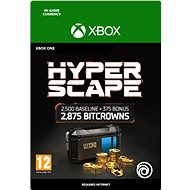 Hyper Scape Virtual Currency: 13500 Bitcrowns Pack - Gaming Accessory