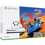 Xbox One S 500GB Forza Horizon 3 + Forza Horizon 3 Hot Wheels DLC - GameConsole