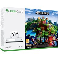 Xbox One S 500GB Minecraft + Minecraft Story Mode 2 + 3 months LIVE GOLD - Game Console