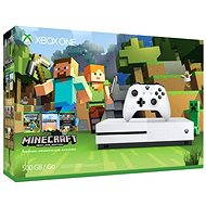 Xbox One S 500GB Minecraft Edition - Game Console