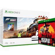 Xbox One S 1TB + Forza Horizon 4 + Red Dead Redemption 2 - Game Console