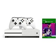 Xbox One S 1TB + NHL 20 + 2x Driver - Game Console