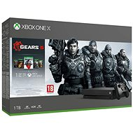 Xbox One X + Gears 5 - Game Console