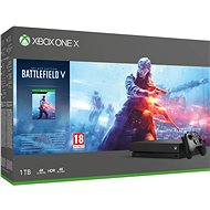 Xbox One X + Battlefield V - Game Console