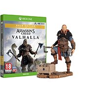 Assassin's Creed Valhalla - Gold Edition - Xbox One + Eivor Figuine - Console Game