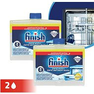 FINISH Dishwasher Cleaner Lemon Duo 250 ml - Cleaner
