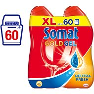 SOMAT Gold Gel NeutralFresh 2x600 ml - Dishwasher Gel