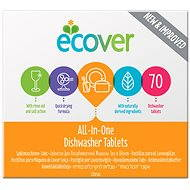 ECOVER All in One 70 pcs - Dishwasher Tablets
