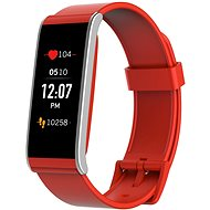 MyKronoz ZeFit4 HR Red / Silver - Smartwatch