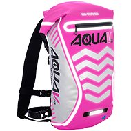 OXFORD waterproof backpack Aqua V20 Extreme Visibility, (pink / reflective elements, volume 20l) - Accessories