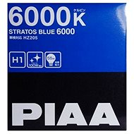 PIAA Stratos Blue 6000K H1 Light Bulbs - Cold White Light with Xenon Effect - Car Bulb