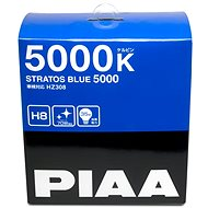 PIAA Stratos Blue 5000K H8 Light Bulbs to Create White Light in BMW Angel Eyes - Car Bulb