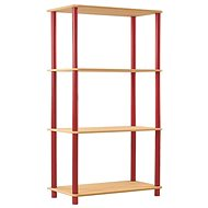 N5K Group Dedal 1080 x 800 x 330 mm, red - Shelf