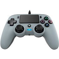 Nacon Wired Compact Controller PS4 - Silver - Gamepad