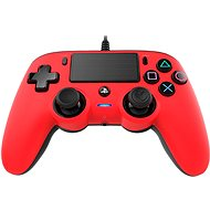 Nacon Wired Compact Controller PS4 - Red - Gamepad