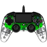 Nacon Wired Compact Controller PS4 - Transparent Green - Gamepad