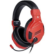 BigBen PS4 Stereo Headset v3 - Red - Gaming Headset