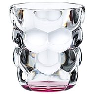 Nachtmann Set of glasses for water 2pcs, BUBBLES, pink - Glass Set