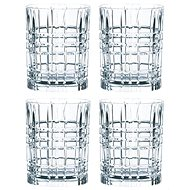 Nachtmann SQUARE Set of Whiskey Glasses, 4 pieces - Whiskey Glasses