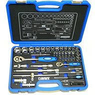 """Narex 1/4"""" and 1/2"""" Ratchets, 61 Pieces - Tool Set"""