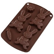 Silicone Mould RABBIT Brown - Baking Mould