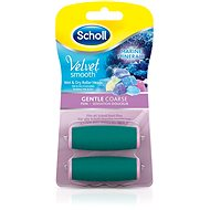 SCHOLL Velvet Smooth Rotary Head Finely Coarse with Sea Minerals 2 pcs - Replacement Head