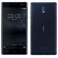 Nokia 3 Tempered Blue - Mobile Phone