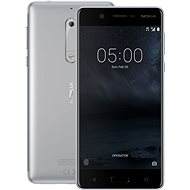 Nokia 5 Silver - Mobile Phone