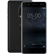 Nokia 5 Matte Black Dual SIM - Mobile Phone