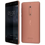 Nokia 5 Dual SIM - Copper - Mobile Phone