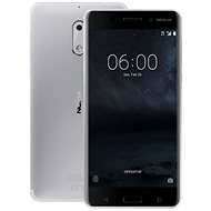 Nokia 6 Silver - Mobile Phone