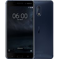 Nokia 6 Tempered Blue Dual SIM - Mobile Phone
