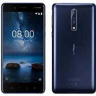 Nokia 8 Dual SIM Tempered Blue - Mobile Phone