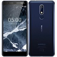 Nokia 5.1 DS Blue - Mobile Phone