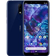 Nokia 5.1 Plus Blue - Mobile Phone