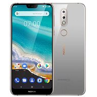 Nokia 7.1 Single SIM grey - Mobile Phone