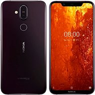 Nokia 8.1 purple - Mobile Phone