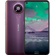 Nokia 3.4 32GB Purple - Mobile Phone