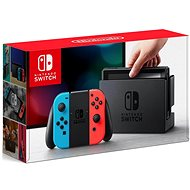 Nintendo Switch - Neon Red & Blue Joy-Con - Game Console